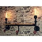 Lampada da Parete Applique da Parete LED Stile Vento industriale/retro industria/tubo dell...
