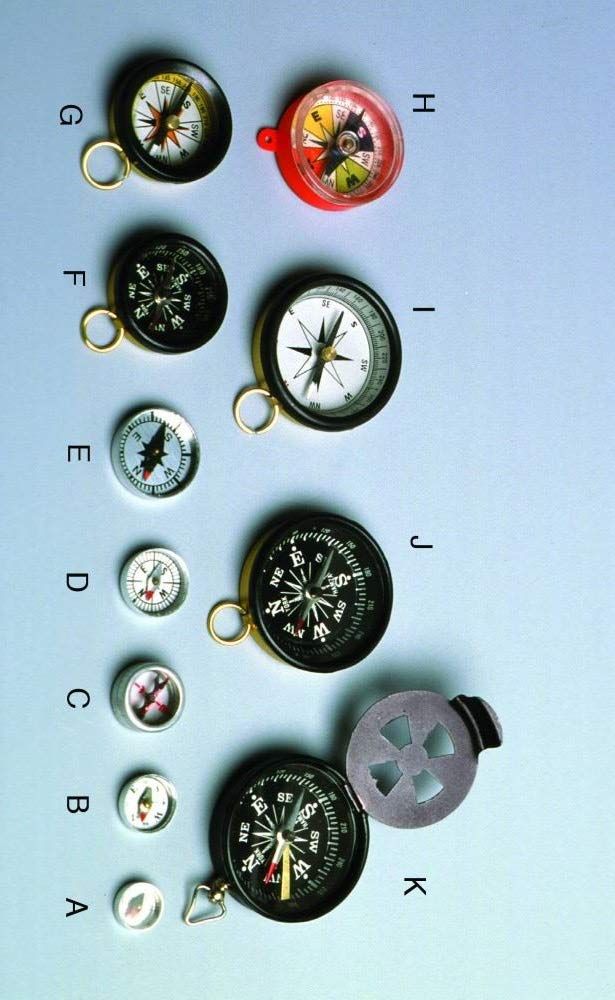 United Scientific Fashion Supplies Luxury goods C1SG12 Magnetic Compasses Top Glass