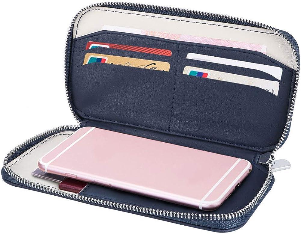Yosoo123 Wallet lowest price Purse Passport Bag 5 ☆ very popular PU Organizer Leat Card Holder