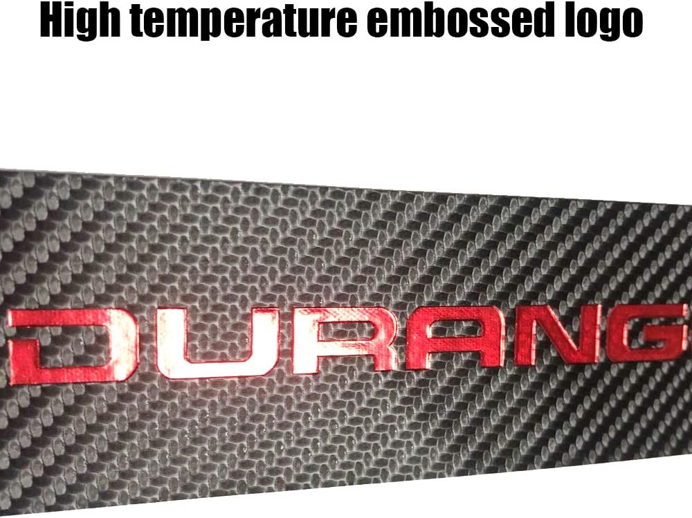 BLUE XITER For Dodge Durango 2011-2020 Carbon Fiber Leather Car Door Sill Scuff Plate Guard Sills Door Entry Guard Protector Trim Autoparts Accessories 4PCS