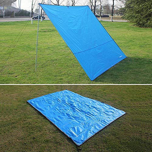 WENFAN Aotu - Esterilla para picnic (240 x 220 cm, resistente a la humedad, portátil, para senderismo, camping, playa, dormir, suave almohada)