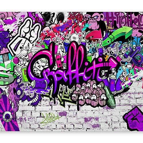 murando Papier peint intissé 200x140 cm Décoration Murale XXL Poster Tableaux Muraux Tapisserie Photo Trompe l'oeil Graffiti f-A-0348-a-c