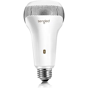 Sengled Solo Bluetooth JBL Speaker Light Bulb Dual Channel Dimmable LED  Light Bulb App Controlled 10W Equivalent E10 Smart Timing Music Bulb,
