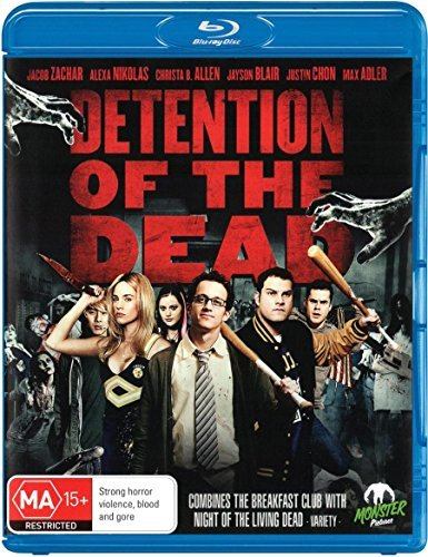School of the Living Dead - Nachsitzen mit Zombies / Detention of the Dead ( ) [ Australische Import ] (Blu-Ray)