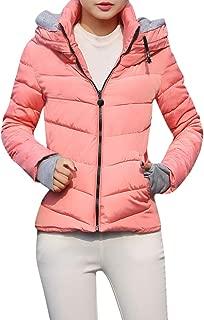 Women's Fashion Thick Coat Hooded Jacket Short Slim Cotton Jacket