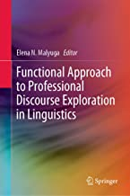 Functional Approach to Professional Discourse Exploration in Linguistics