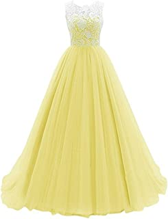 7e333d629c55 Kids Big Girls Bridesmaid Tulle Lace Dress Elegant A Line Communion Ball  Gown Dance Pageant Birthday