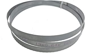 Auartmetion -Verktyg, 1 st 56,5 x 1/2 tum x 0,2 tum eller 1435 x 13 x 0,65 x 14 tpi bimetall M42 metallbandsågblad för eur...