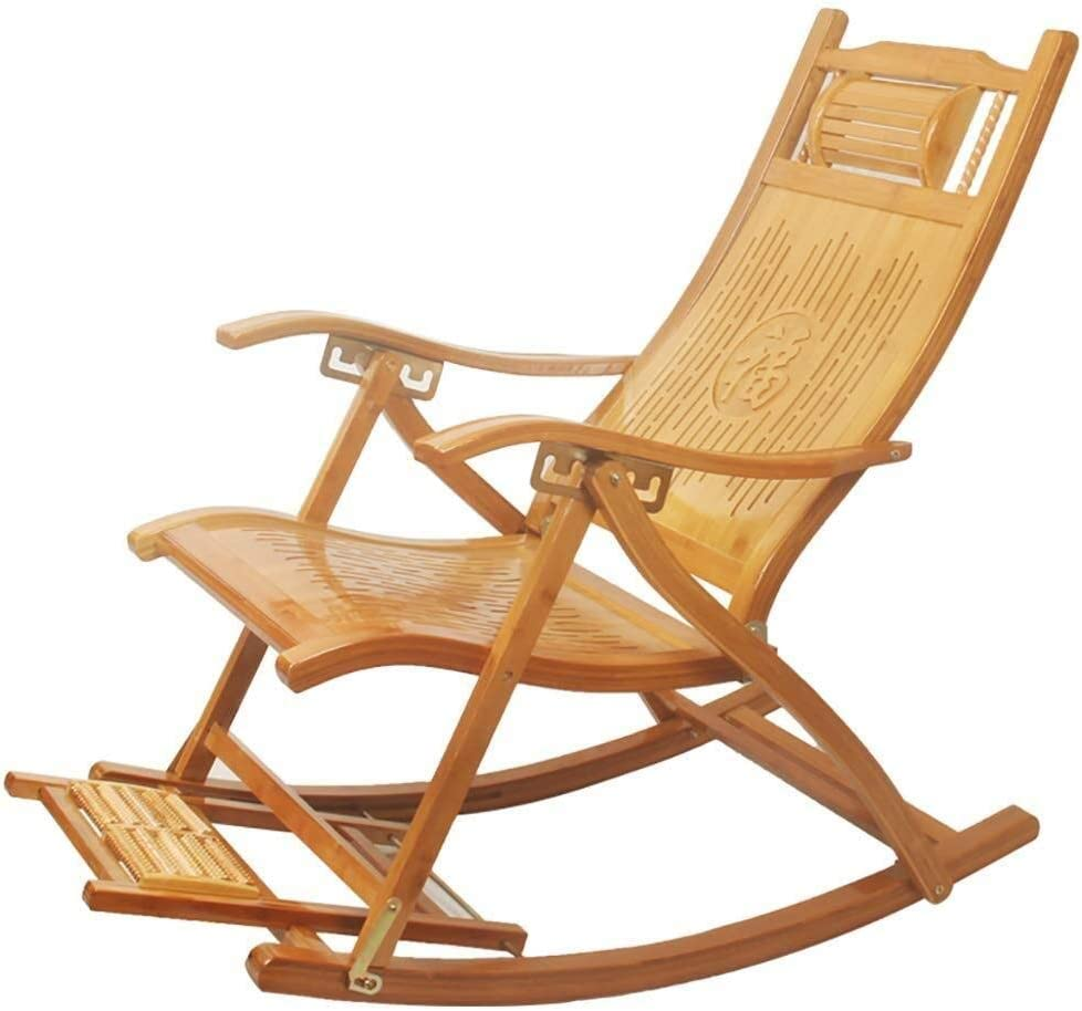 Miami Mall Rocking Chair Popular brand Armchair Solid Wood Comfortable Backrest P Curved