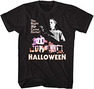Halloween Scary Horror Slasher Film Movie Michael Myers He Came Home T-Shirt Tee