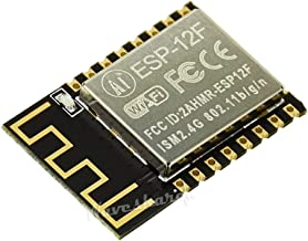 ESP-12F WiFi Module Based on ESP8266 Built-in 32Mbit Flash Small SMD22 Package integrates MCU Inside Supports Lua/Micropython/Arduino to Achieve Flexible and Fast prototyping