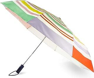 Kate Spade New York Travel Umbrella, Stripe