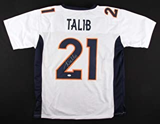 Aqib Talib Autographed Signed Broncos Jersey - JSA Certified