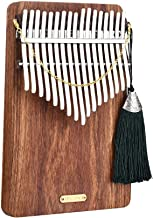HENGTONGTONGXUN Lingting LT-K17P teclas T17 Kalimba Mbira Pulgar Piano (Escuchar el mar) Fácil de usar (Color : A)