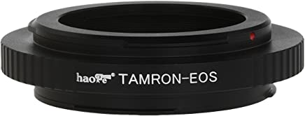 Haoge Lens Mount Adapter for Tamron Adaptall II 2 Lens to Canon EOS Camera 1D, 1DS, Mark II, III, IV, 1DX, 1DC, 5D, 5D Mark II, II 7D, 10D, 20D, 30D, 40D, 50D, 60D, 70D, Rebel T3i, T4i, T5i, SL1