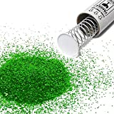 Pranks Anonymous Spring Loaded Glitter Bomb - Glitter Pranks for Adults - Confetti Cannon - Prank Gifts - Shock Pranks - Spring Loaded Confetti Popper - Gag Gifts - (1.5 oz, Green)