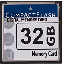 JUZHUO Digital Camera Memory Card 32GB CompactFlash Memory Card Free Packaging 16GB CompactFlash Memory Card 400x (TS16GCF400