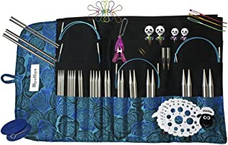 Hiya Hiya 5 Inch Sharp Limited Edition Deluxe Interchangeable Needle Set with Circular Case