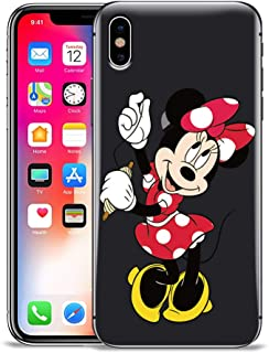 GSPSTORE iPhone Xs/iPhone X Case,Mickey and Minnie Mouse Pattern Protector Case Cover for iPhone Xs/iPhone X #18