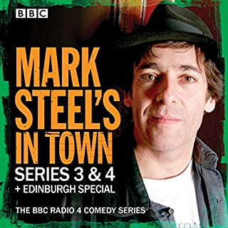 Mark Steel's in Town: Series 3 & 4 Plus Edinburgh Special cover art