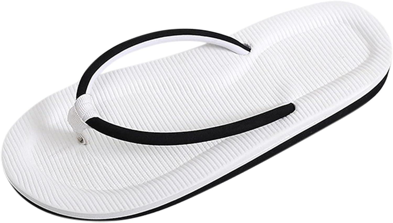 FAMOORE Womens Summer Fashion Sandals Flat Toe Comfortable Slippers Open Toe Snakeskin Beach Sandals Thong Flip Flops