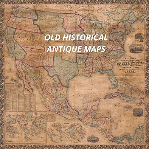 Old - Antique Maps:: These beautiful Old Maps are actual scans of Vintage Maps created hundreds of years ago. They represent a variety of locations and ... highlight for collectors! (English Edition)