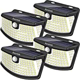 Aootek New solar lights 120 Leds upgraded with lights reflector,270° Wide...