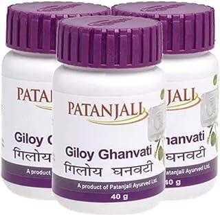Patanjali Giloy Ghan Vati - 40gm Pack of 5