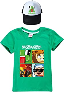 N/F Onuitsprekelijke Sweatshirt Tops Mode Jongens Grappig YouTube Gamer Meisjes T-Shirt en Hoed voor Kinderen