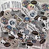 Brandy Melville 50 Random Stickers VSCO Hydroflask Laptop Notebook Decorations New York Chill California | Repeats