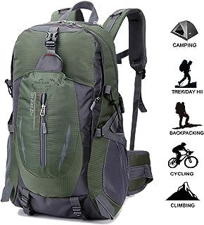 Geila Deportes al Aire Libre Impermeable 40L Senderismo Camping Daypack Equipaje Mochila
