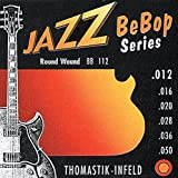 Thomastik cuerda Sol .019 níquel, flatwound JS19 para Guitarra Eléctrica Jazz Swing jeugo JS111