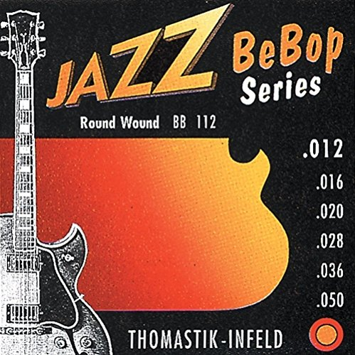 Thomastik Einzelsaite G .020 Nickel, Flachdraht umsponnen, flatwound JS20 für E-Gitarre Jazz Swing Satz JS112
