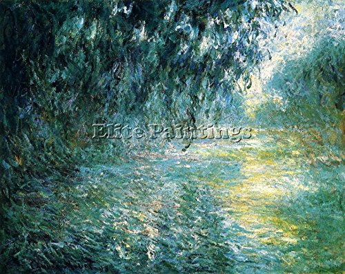 Elite-Paintings Claude Monet The PARC MONCEAU Paris 1 Artista Quadro Dipinto Olio su Tela Mano 40x60cm Alta qualita