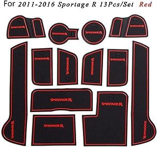Car Lux AR04304 Alfombras alfombrillas de goma a medida Exclusiv Tipo cubeta 3D para Sportage IV 4