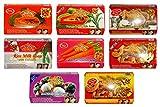 8 x 125g ASANTEE Seife aus Thailand Papaya, Papaya-Reismilch, Reismilch-Collagen, Tamarinde-Ingwer,...