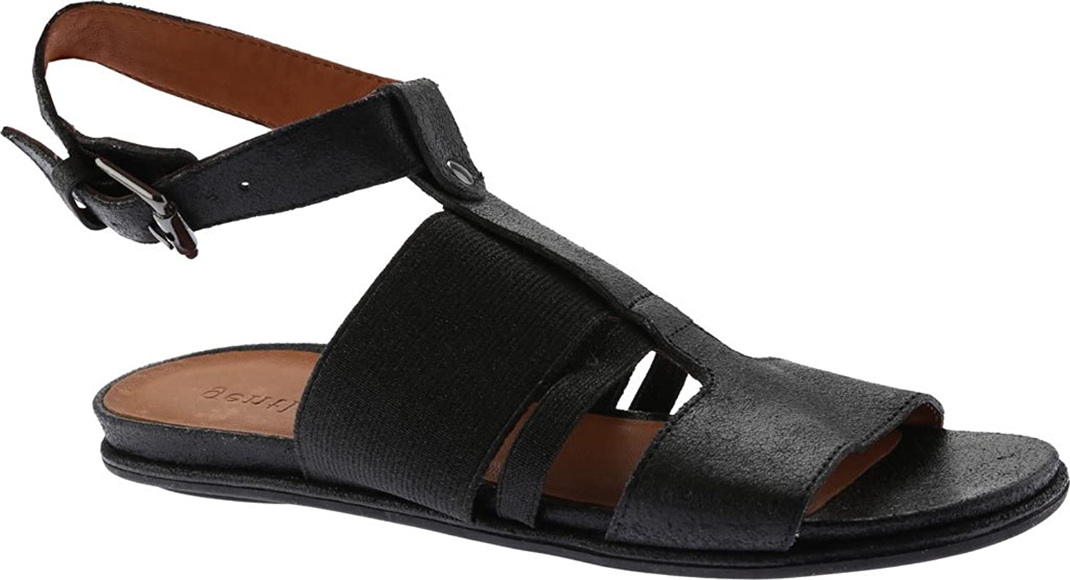 Gentle Souls by Kenneth Cole Womens Ophelia Metallic Ankle Evening Sandals