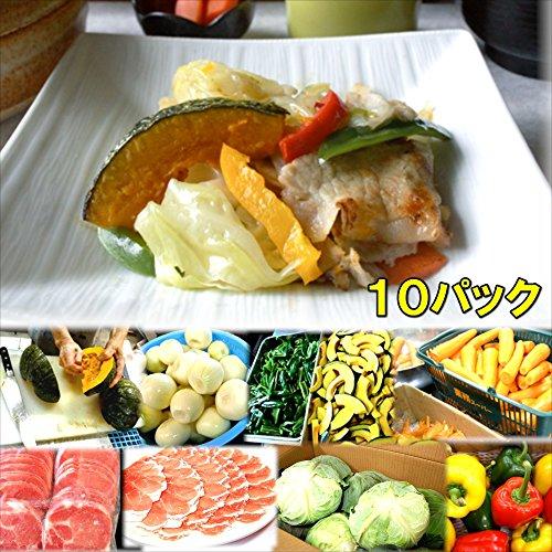 具たくさん肉野菜炒め 10食 惣菜 お惣菜 おかず 惣菜セット 詰め合わせ お弁当 無添加 京都 手つくり