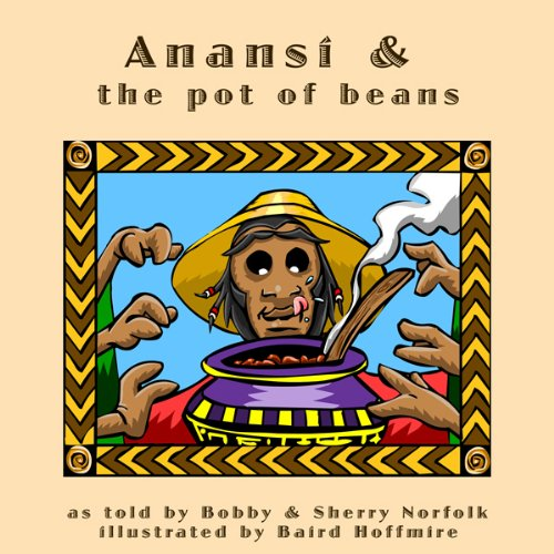Anansi and the Pot of Beans audiobook cover art