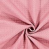 Fabulous Fabrics Waffelpiqué – Altrosa — Meterware ab