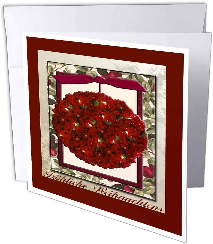 3dRosa gc_37018_1 Fröhliche Weihnachten, Fröhliche Fröhliche Fröhliche Weihnachten, Fröhliche Weihnachten, Cranberry Ornament, 6 Stück B07BJC8TLZ | Verschiedene aktuelle Designs  11ff25