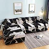 ASCV Funda de sofá elástica de Dibujos Animados Funda de sofá de algodón Sofá seccional Necesita Pedir Funda de sofá de 2 Piezas si el sofá en Forma de L A8 1 Plaza