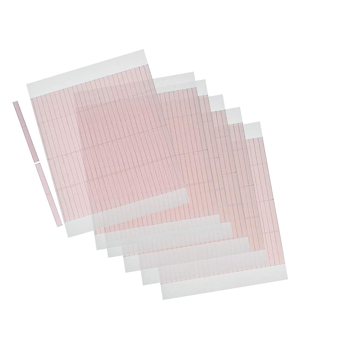 聴覚障害者眠っている排除するm.tivance アイテープ 二重瞼形成 二重テープ 5シートセット 260本入り/アイテープ5枚セット
