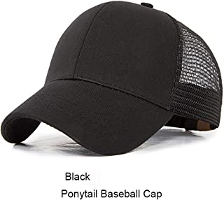 New Design Ponytail Caps for Women Camo Pattern Mesh Cap Summer Baseball Cap 17 with Tag