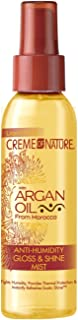 Creme of Nature Argan Oil Gloss and Shine Mist, 4 Ounce