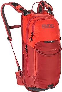EVOC Sports GmbH Stage 6升技术日用背包,橙色-辣椒红色,一件