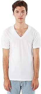 American Apparel Men Fine Jersey V-Neck T-Shirt