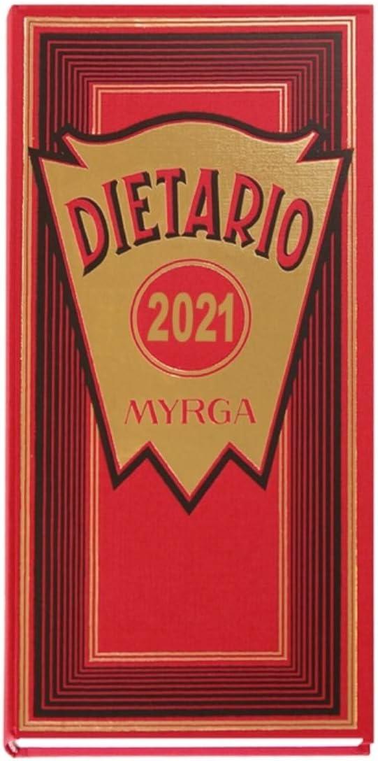 MYRGA DIETARIO 2/3 2020 D/P ROJO (315 x 155 mm)