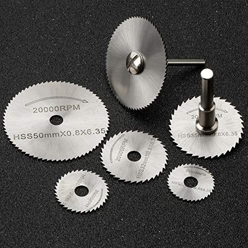 Sägeblatt Kreissägeblatt Set JTENG dremel drehwerkzeug geeignet Trennscheiben Schneid Set für holz, plastik, fiberglas, kupfer, aluminium und dünnen blech Zubehör für Elektrowerkzeuge
