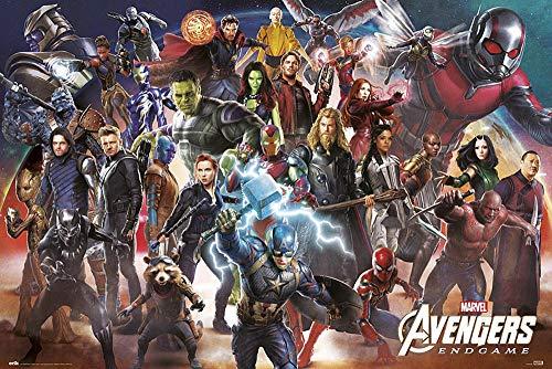 Póster Marvel Avengers: Endgame - Line Up (91,5cm x 61cm)